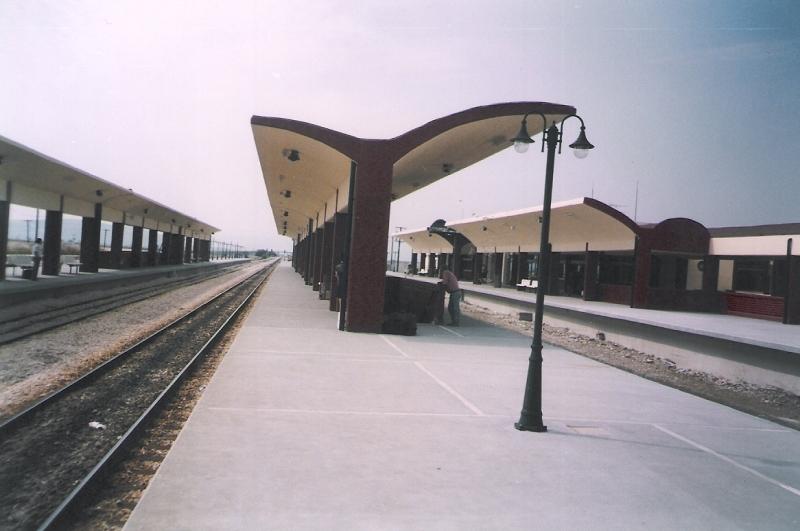 Κατασκευή κτιρίου επιβατών στον Σιδηροδρομικό Σταθμό Αιγινίου