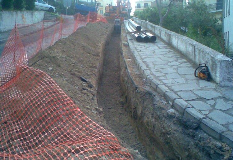 Κατασκευή δικτύου ύδρευσης Δήμου Καβάλας – Περιοχή Χιλίων