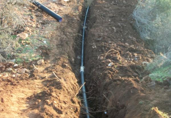 Ολοκλήρωση εσωτερικού δικτύου ύδρευσης οικισμού Κρυονερίου