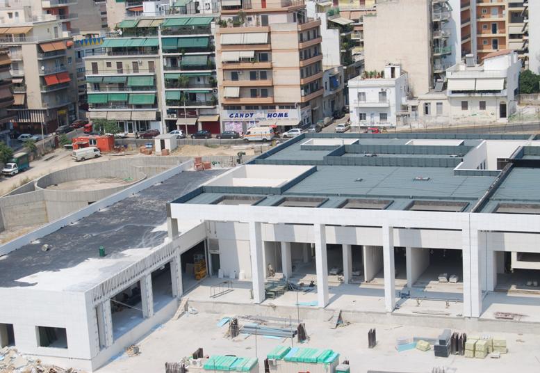Νέο Ειρηνοδικείο Αθηνών – φάση Β΄ Αποπεράτωση οικοδομικών εργασιών  & Η/Μ εγκαταστάσεις