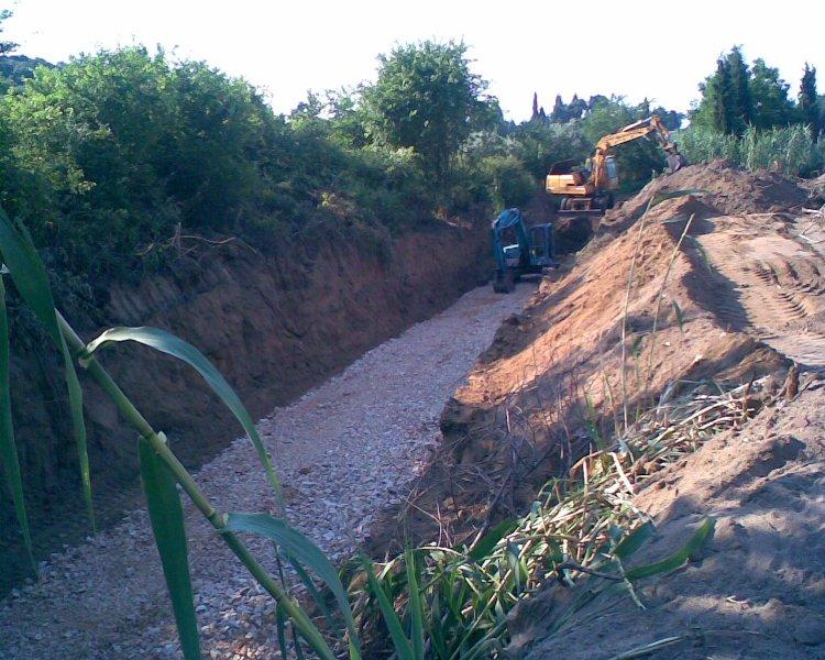 Αποχέτευση ακαθάρτων – ομβρίων και ύδρευση Περιγιαλίου Καβάλας – Φάση Α΄